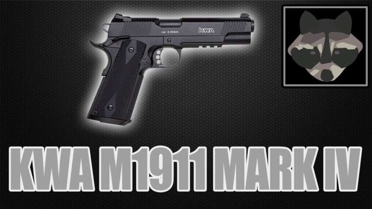 POUR M1911 Mark IV GBB – Airsoft Review [HD]