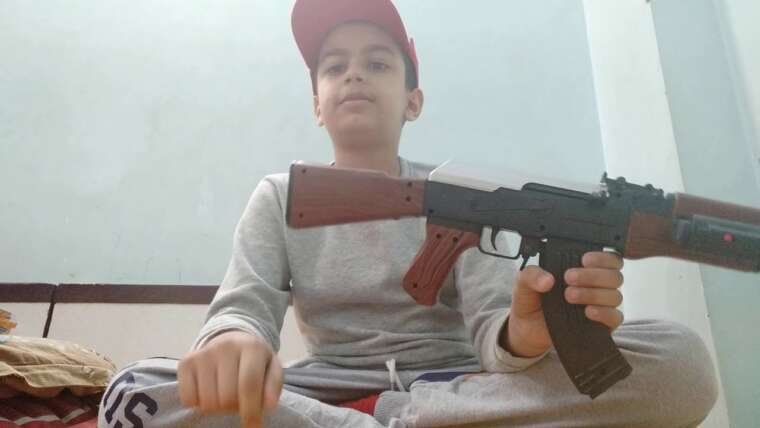 Examen du pistolet airsoft AK 47 par sallu 😀
