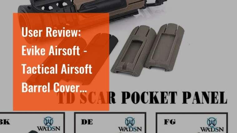 Avis d'utilisateur: Evike Airsoft – Couvre-canon tactique Airsoft avec cordon élastique – Retirer avant banc
