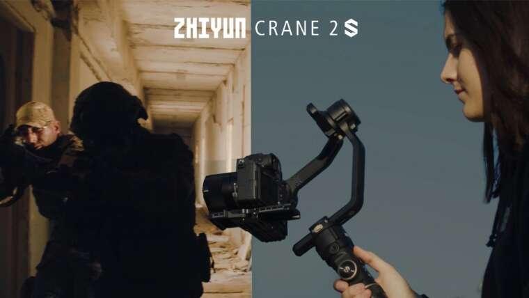 Zhiyun Crane 2s I CINEMATIC Airsoft Video + REVUE