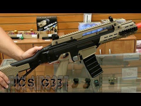 ICS G33 Airsoft Gun Review et Chrono |  Fox Airsoft