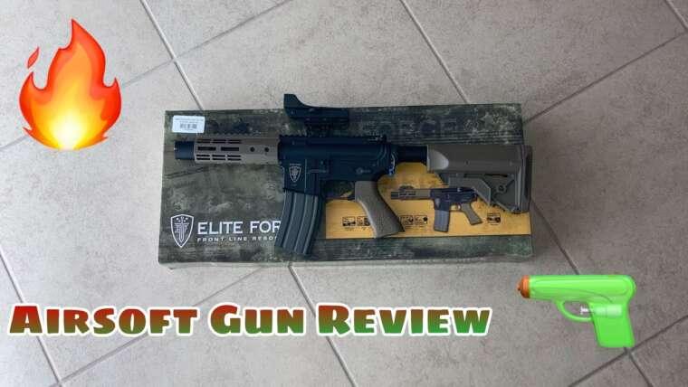 Pistolet Airsoft Elite Force M4 CQC  