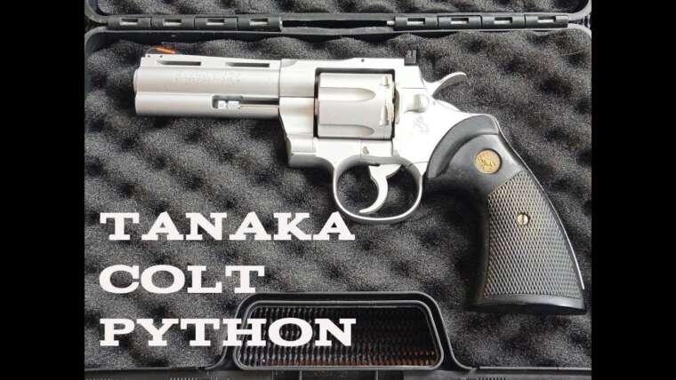 (Airsoft Review) Tanaka Colt Python – Refaire avec FPS et test de précision