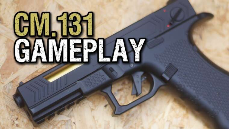 Cyma CM.131 Gameplay Airsoft |  Deutsch