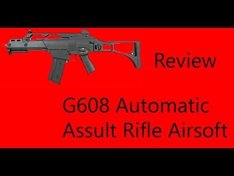 examen du fusil d'assaut g608 airsoft
