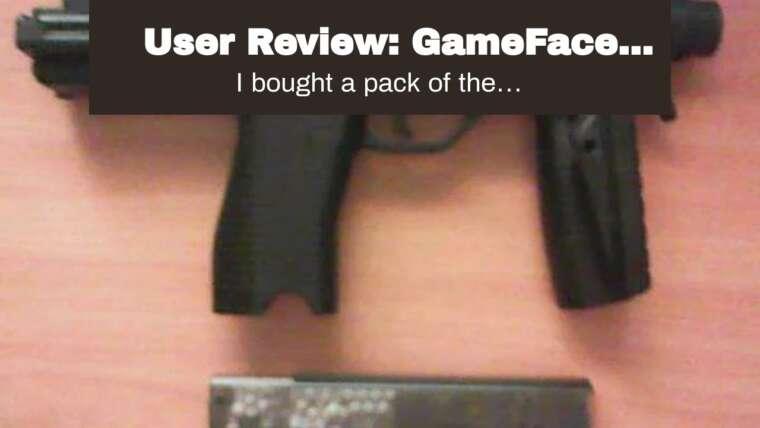 Revue des utilisateurs: GameFace SM2C11 Magazine pour GameFace SAMC11 Airsoft Pistol, 2-Pack