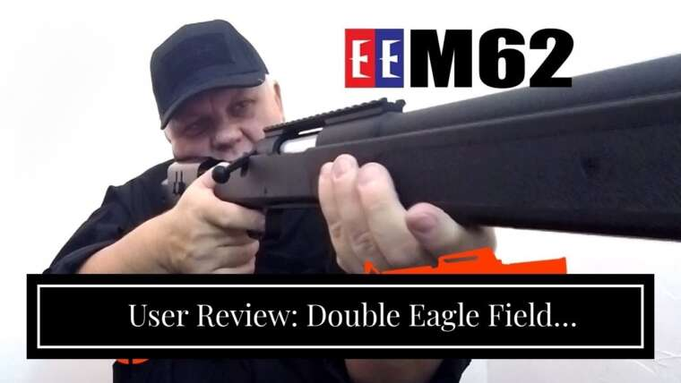Avis d'utilisateurs: Double Eagle Field Marksman Bolt Action Spring Airsoft Sniper Rifle Gun FPS 480