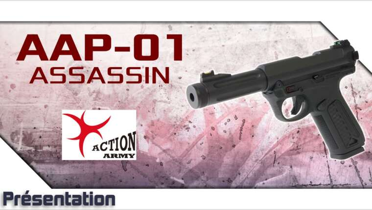 [AAP-01 Assassin – Action Army Company] Présentation | Review | Airsoft FR – EN subs