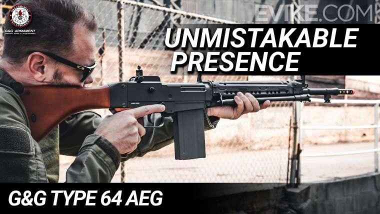 Présence indéniable – G&G Type 64 AEG – Critique