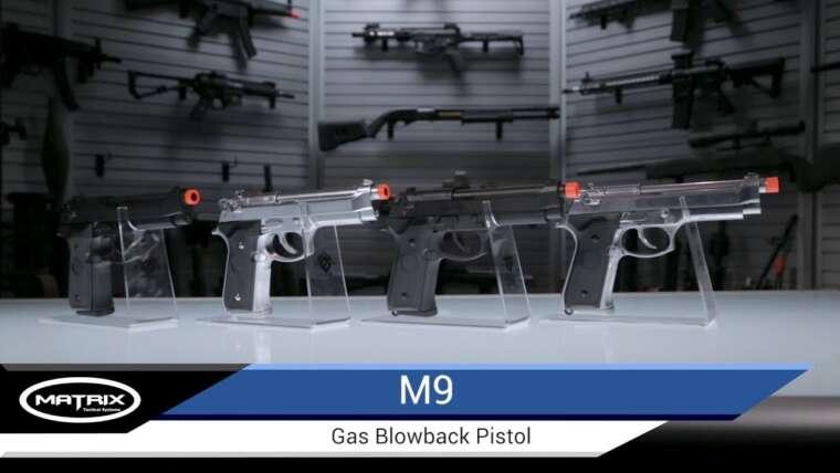 Pistolet Evike Matrix Elite M9 GBB – Airsoft Evike.com