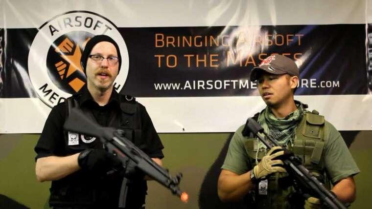 Fusil G&G H&K MP5 EBB AEG – Bref examen à Tac City Airsoft
