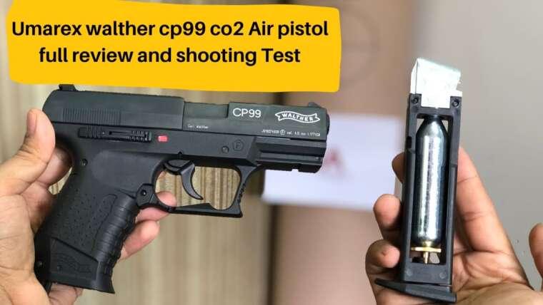 Revue complète du pistolet à air comprimé Umarex Walther CP99 Co2 et test de tir