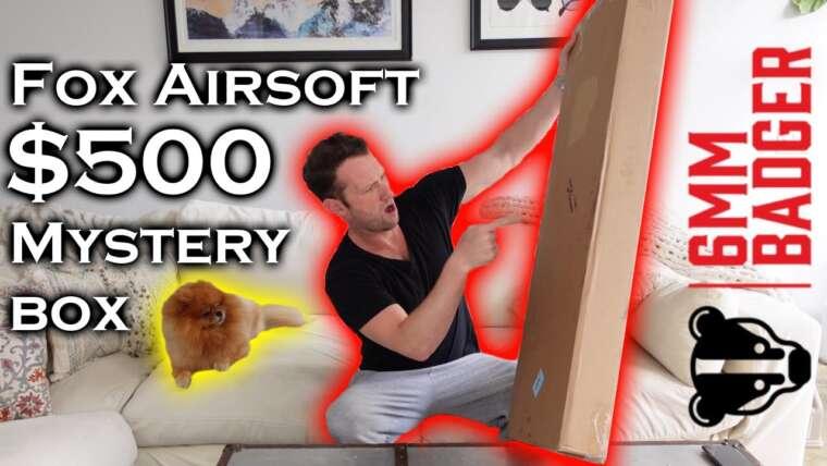 Déballer une boîte mystère Fox Airsoft à 500 $ !! … une petite surprise.