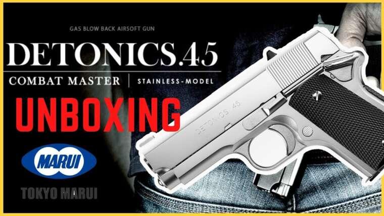 รีวิว Revue Unboxing Tokyo Marui DETONICS .45 Airsoft Best of Compact Handgun
