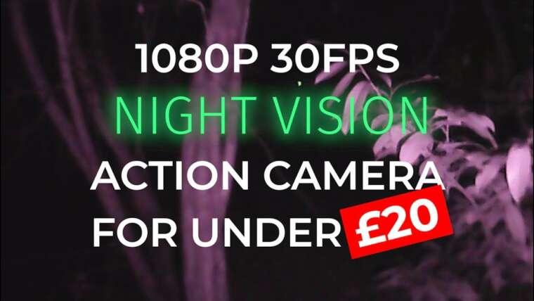 Comment faire une caméra de vision nocturne Airsoft 1080P pour moins de 20 £