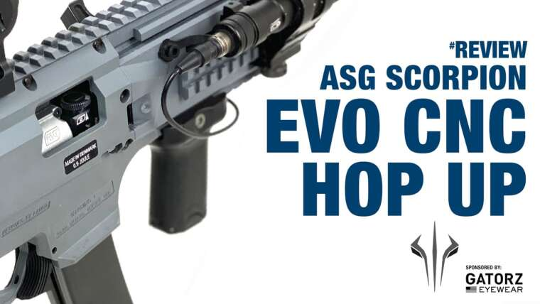 ASG Scorpion Evo CNC Hop Up Review