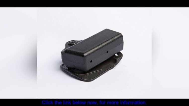 Évaluer IPSC Magazine Tactical Airsoft Hunting Single System Mount 35-G17B Kydex Holster Singl Mag P