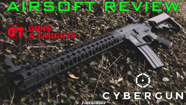 Airsoft Review # 25 Colt M4 HARVEST CYBERGUN (PISTOLETS ET CIBLES)