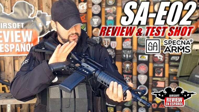 Le Specna le moins cher de la gamme EDGE – SA-E02 RRA (Review & Test Shot) |  Revue Airsoft en espagnol