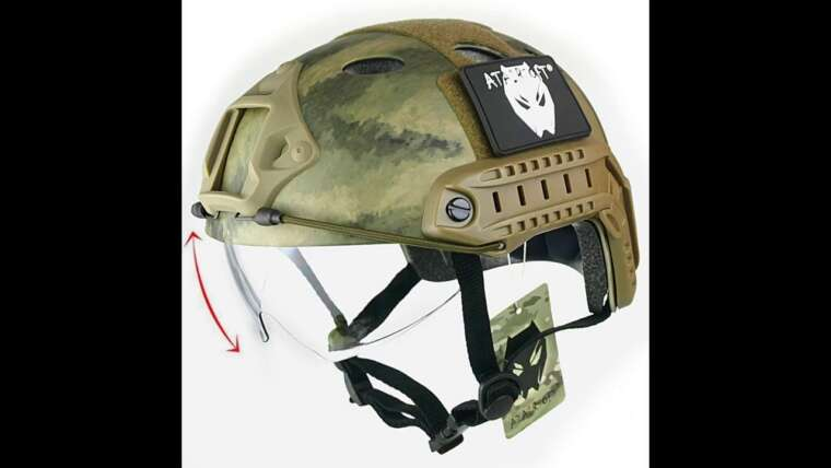 Avis consommateur: ATAIRSOFT PJ Type Tactical Paintball Airsoft Fast Helmet