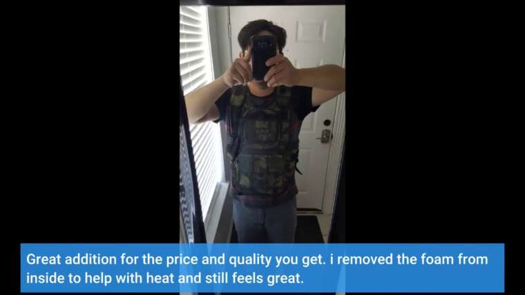 Avis consommateur: Gilet tactique GXG Army Swat Paintball Airsoft Camo