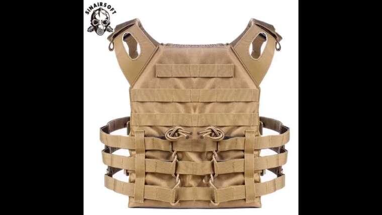Avis consommateur: Jipemtra Tactical Airsoft Vest pour enfants Outdoor Molle Respirant JPC Vest Game …