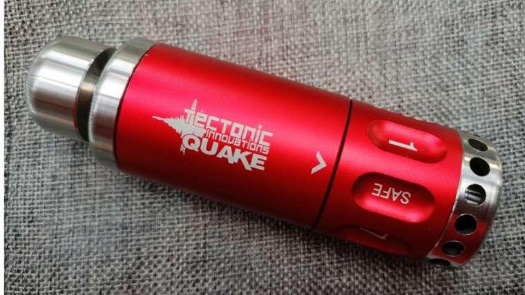 Grenade à impact Tectonic Innovations Quake 8 (Examen)