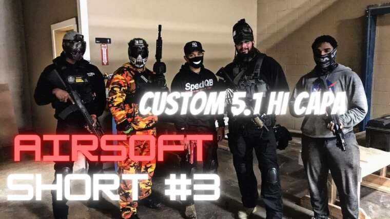 Airsoft Short # 3 (gameplay personnalisé de Tokyo Marui 5.1 @ Area53 Williamsburg, Brooklyn)