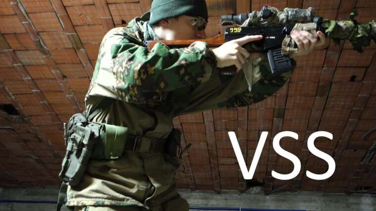 Softair – VSS Vintorez KOER Personnalisé [Rasha Airsoft Review]