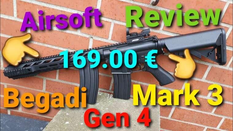 Revue Airsoft: Begadi M4 Mark 3 ABS sAEG Gen 4 Efcs Core
