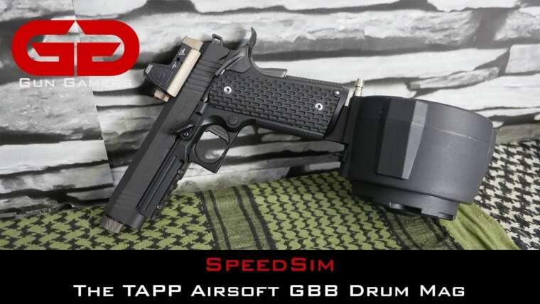 SpeedSim: Réflexions sur le TAPP Airsoft Drum Magazine