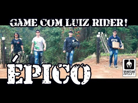 Epic Airsoft avec Luiz Rider, Marshall, Nicolas et Manu Rider :)