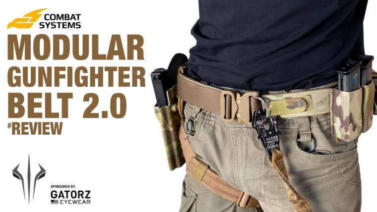 Revue de la ceinture modulaire de chasseur de combat 2.0 de Combat Systems