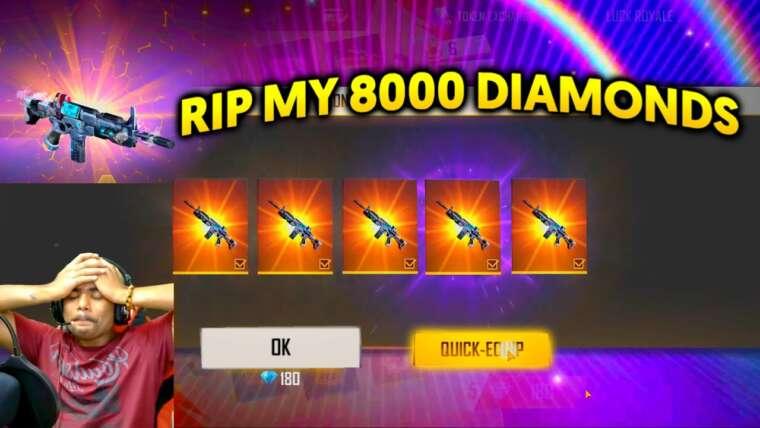 J'AI L'INCUBATEUR TITAN SCAR ||  RIP MY 8000 DIAMANTS ||  CRYING MOMENT ||  FEU GRATUIT
