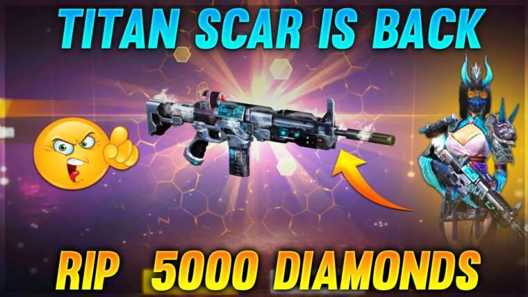Titan Scar est de retour Rip 💎 5000