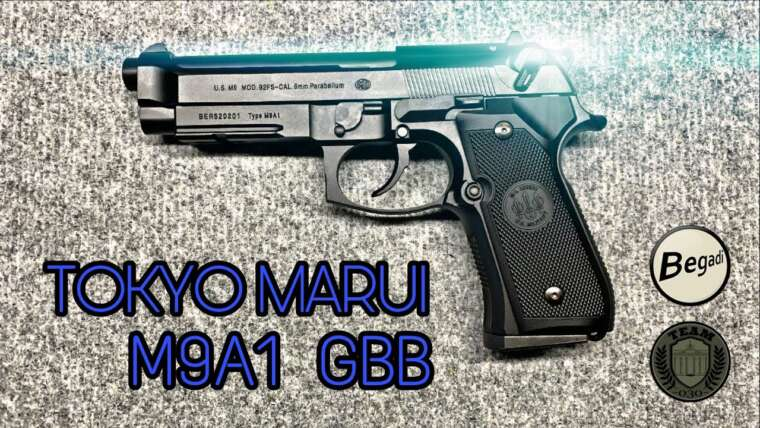 [REVIEW] Pistolet TOKYO MARUI M9A1 GBB, test Airsoft M92 6 mm inkl.  Montage TEAM-030-AIRSOFT