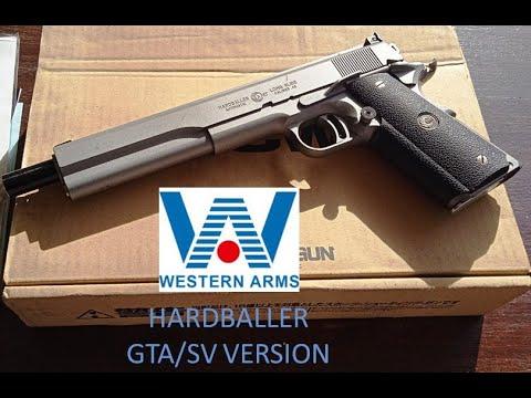 (Airsoft Review – Indonésie) Western Arms Hardballer Version GTA / SV