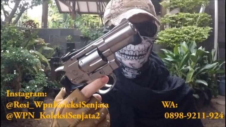 Évaluer Airsoftgun Revolver 708 Silver Chrome (WINGUN FACTORY)
