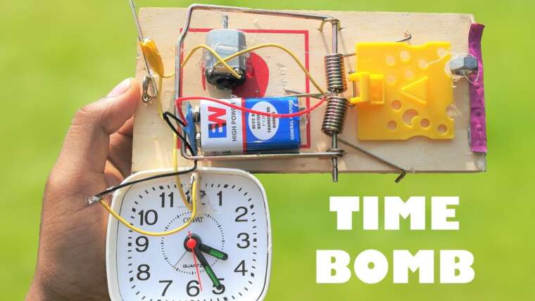 Comment faire une simple bombe à retardement – DIY