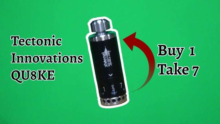 EXAMEN COMPLET |  INNOVATIONS TECTONIC – Grenade QU8KE |  Achetez 1 prise 7 !!!