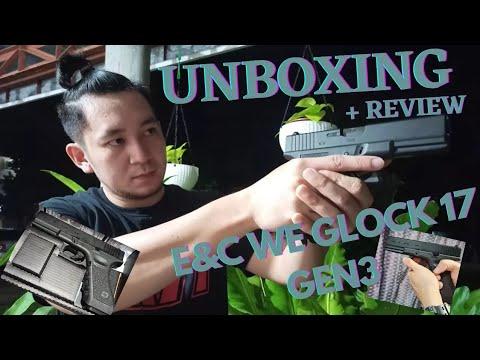 E&C Glock 17 Gen3 GBB Unboxing et examen (pistolet Airsoft)