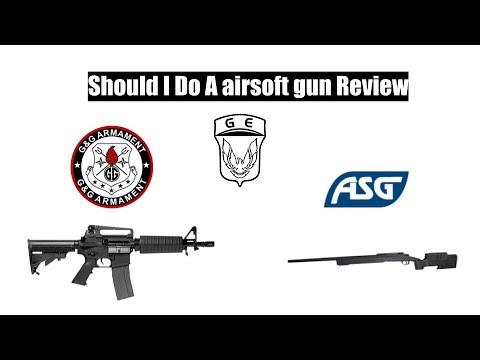 Airsoft dois-je revoir ces armes?