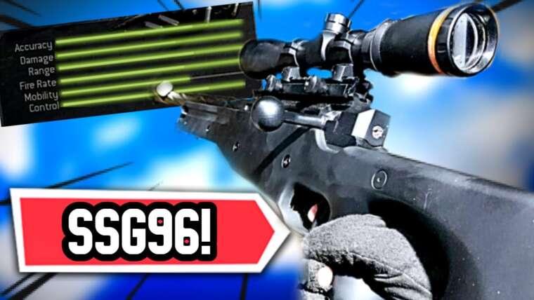 AIRSOFT WARZONE !!  NOVRITSCH SSG96 GAMEPLAY!