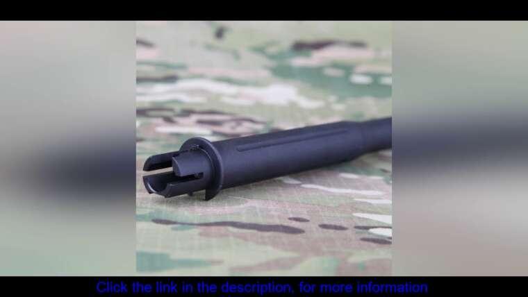 Évaluer BIG DRAGON CNC 10 pouces canon extérieur en aluminium pour fusil tactique Airsoft AEG M4 M4A1 chasse