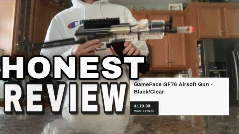 GameFace GF76 Airsoft Review!