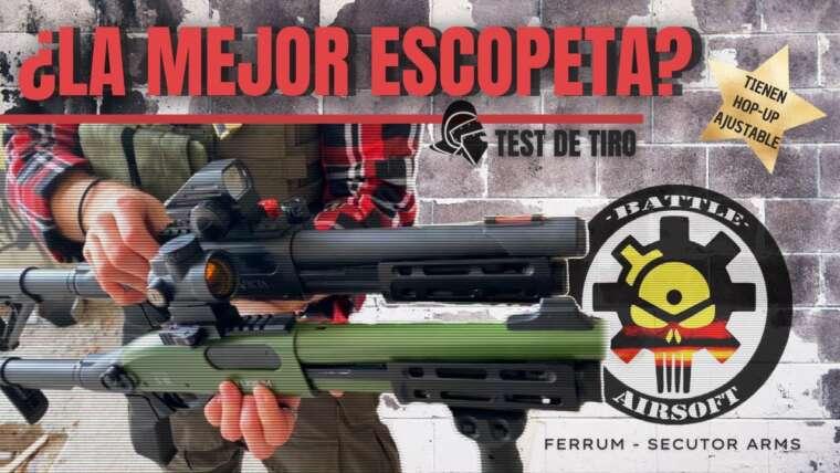 Évaluer FULL METAL Ferrum Shotgun de Secutor / A HOP UP RÉGLABLE😱