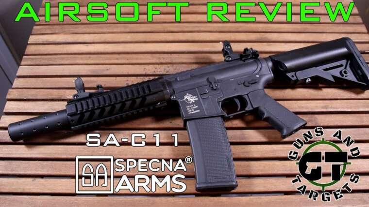 Airsoft Review # 26 SA-C11 CORE SPECNA ARMS (PISTOLETS ET CIBLES)