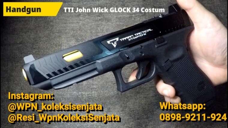 Évaluer Airsoftgun TTI Glock 34 Combat Master John Wick Edition (TARAN TACTICAL, UMAREX FACTORY)