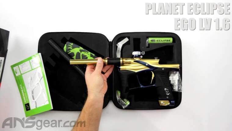 Planet Eclipse Ego LV 1.6 – Critique du pistolet de paintball