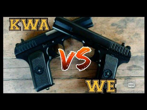 KWA vs NOUS: COMPARATIVO TT33 TOKAREV